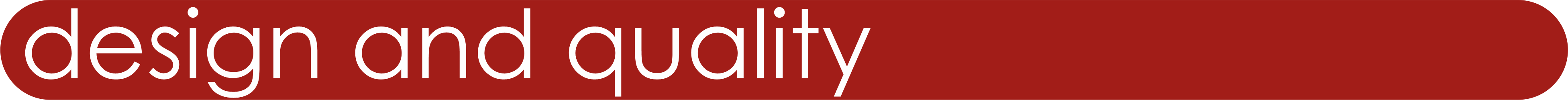 Main-design and qality